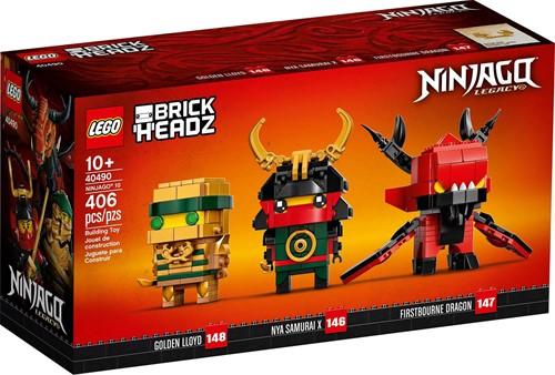 LEGO BrickHeadz™ NINJAGO® 10 - 40490