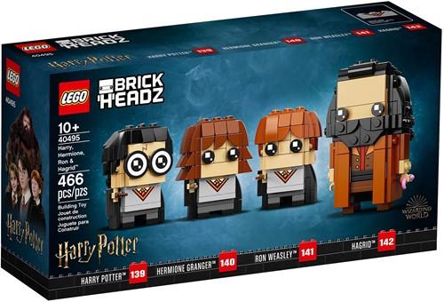 LEGO BrickHeadz™ Harry, Hermelien, Ron & Hagrid™ - 40495
