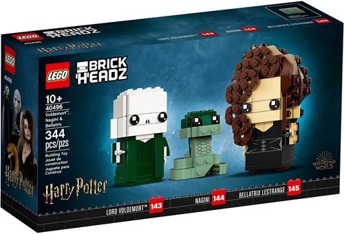 LEGO BrickHeadz™ Voldemort™, Nagini & Bellatrix - 40496