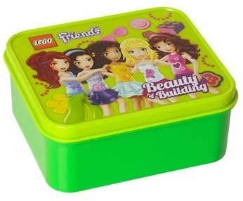 LEGO Friends Lunchbox Lime Groen - 4050