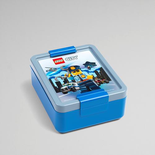 LEGO City Lunchbox – 4052 (blauw/grijs)