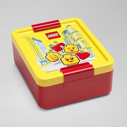 LEGO Lunchbox - Girl - 4052 (rood/geel)