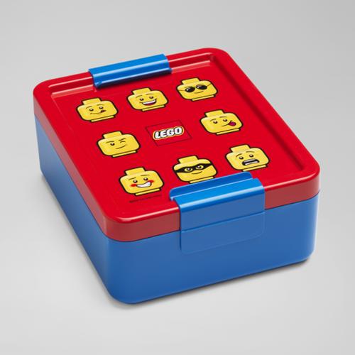 LEGO Lunchbox - Iconic - 4052 (blauw/rood)