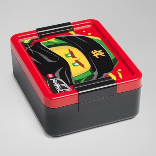 LEGO NINJAGO™ Lunchbox - 4052 (zwart/rood)