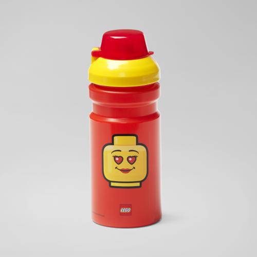 LEGO Drinkfles - Girl - 4056 (rood/geel)