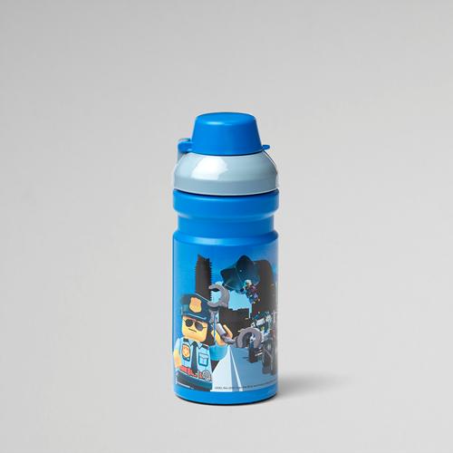 LEGO City Drinkfles – 4056 (blauw/grijs)