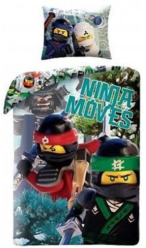 THE LEGO® NINJAGO® MOVIE Dekbedovertrek Ninja Moves