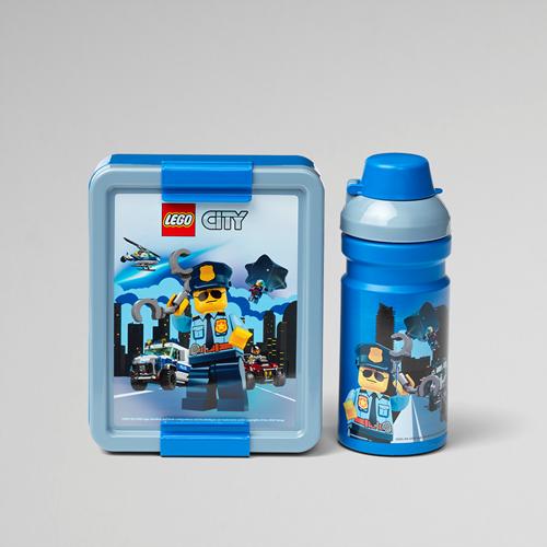 LEGO City Lunchset – 4058 (blauw/grijs)