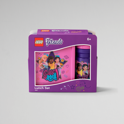 LEGO Friends Lunchset – 4058 (paars/roze)