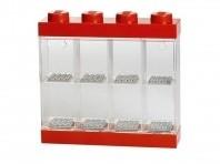 LEGO Minifigure Display Case 8 Rood - 4065