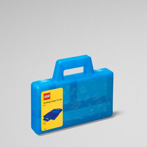 LEGO Sorteerkoffer To Go Blauw - 4087