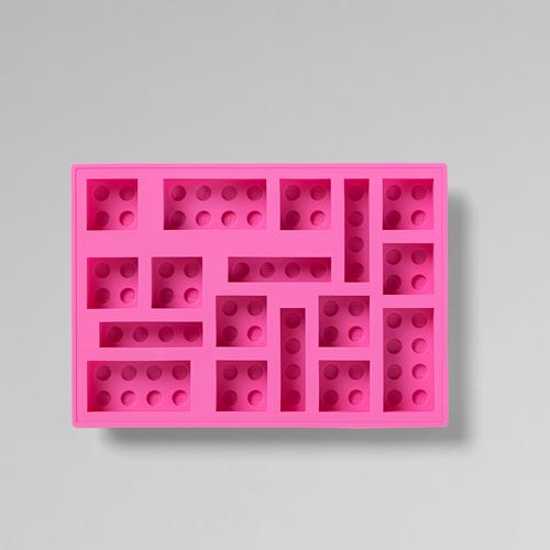 LEGO® steen ijsblokjesvorm – roze - 4100