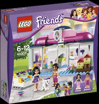 LEGO Friends 41007 Heartlake dierensalon