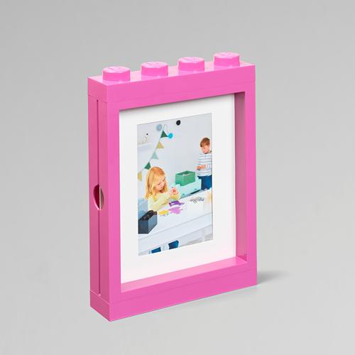 LEGO® fotolijst – roze - 4113