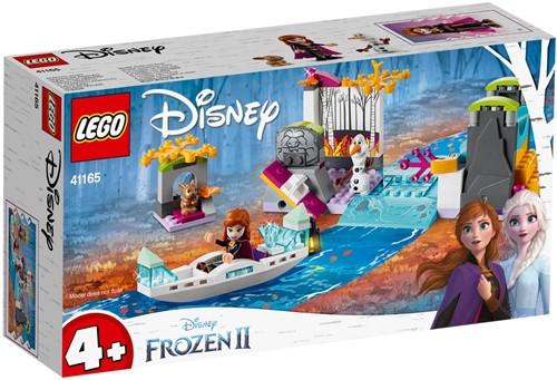 LEGO Disney Frozen II 41165 Anna's kano-expeditie