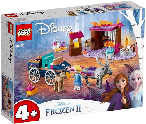 LEGO Disney Frozen II Elsa's koetsavontuur - 41166