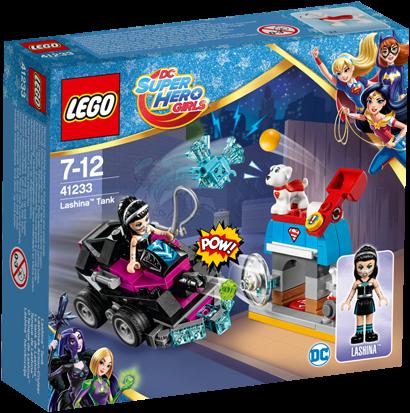 LEGO DC Super Hero Girls 41233 Lashina™ tank