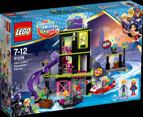 LEGO DC Super Hero Girls 41238 Lena Luthor™ Kryptomite™-fabriek