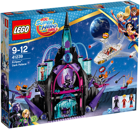 LEGO DC Super Hero Girls 41239 Eclipso™ duister paleis