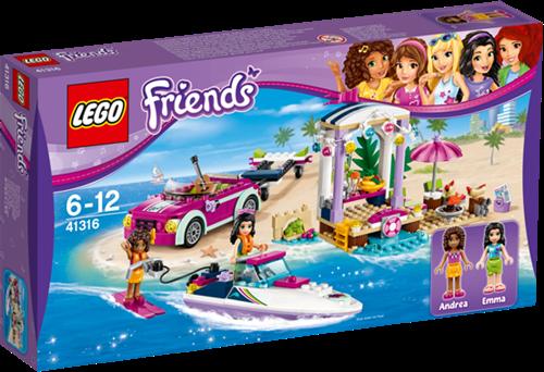 LEGO Friends 41316 Andrea's speedboottransport