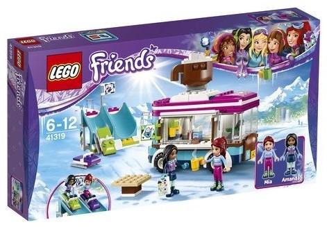 LEGO Friends 41319 Wintersport koek- en zopiewagen