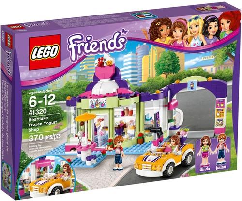LEGO Friends 41320 Heartlake yoghurtijswinkel