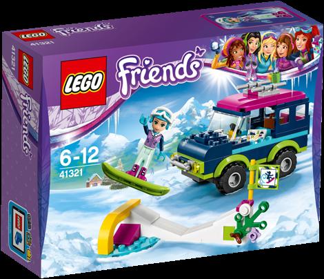 LEGO Friends Wintersport terreinwagen - 41321