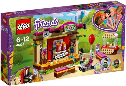 LEGO Friends 41334 Andrea's parkoptreden