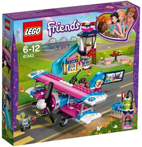 LEGO Friends Heartlake City vliegtuigtour - 41343