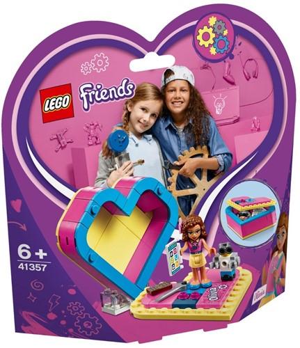 LEGO Friends 41357 Olivia's hartvormige doos
