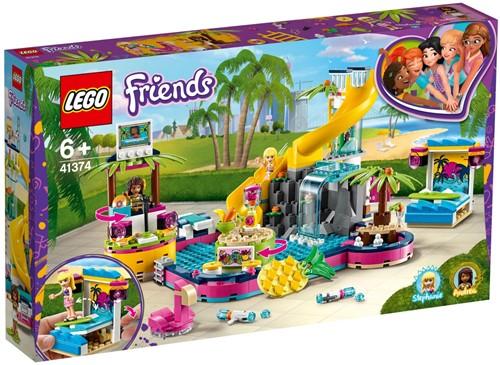 LEGO Friends Andrea's zwembadfeest - 41374