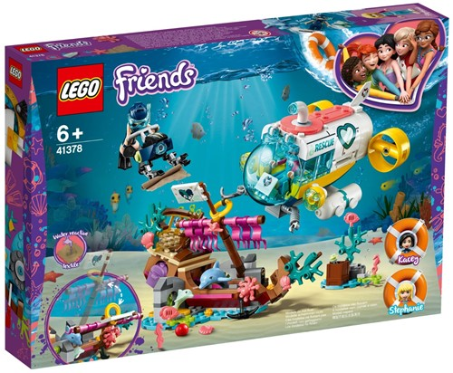 LEGO Friends Dolfijnen reddingsactie - 41378