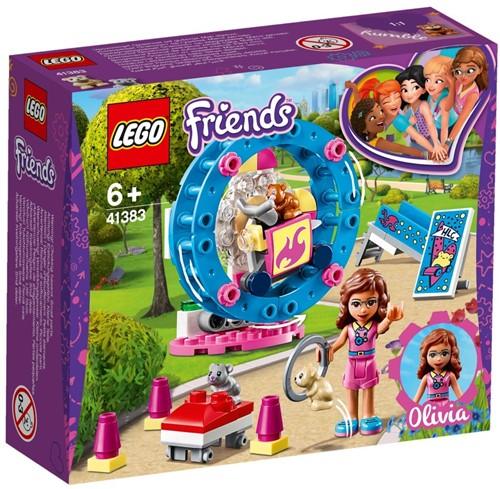 LEGO Friends Olivia's hamsterspeelplaats - 41383