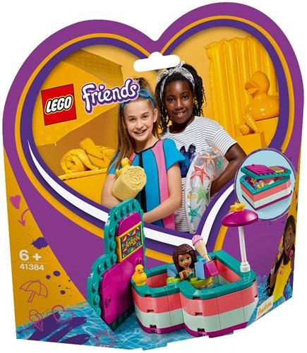 LEGO Friends 41384 Andre's hartvormige zomerdoos