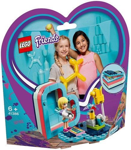 LEGO Friends Stephanie's hartvormige zomerdoos - 41386