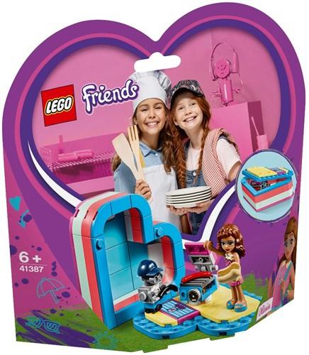 LEGO Friends Olivia's hartvormige zomerdoos - 41387