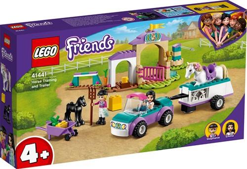 LEGO Friends Paardentraining en aanhanger - 41441