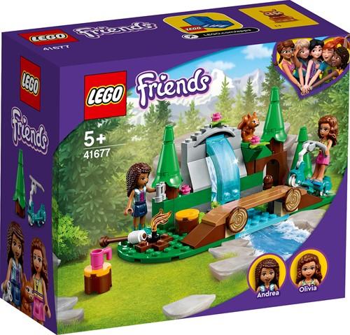 LEGO Friends Waterval in het bos - 41677