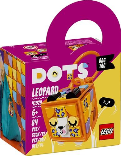 LEGO DOTS Tassenhanger luipaard - 41929