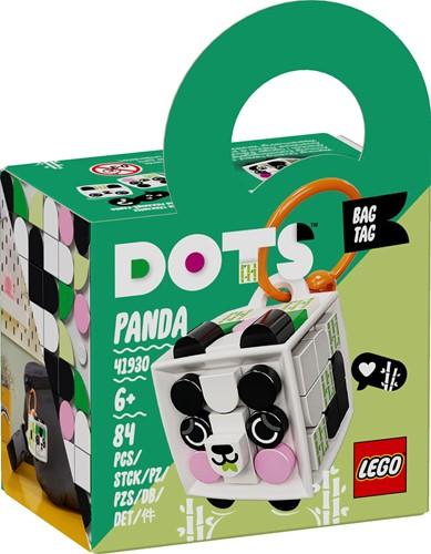 LEGO DOTS Tassenhanger panda - 41930