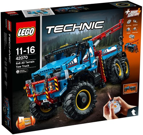 LEGO Technic 42070 6x6 All-Terrain-sleepwagen