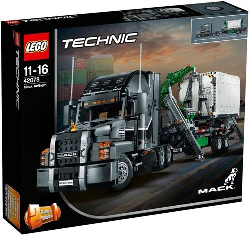 LEGO Technic Mack Anthem - 42078