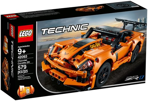 LEGO Technic Chevrolet Corvette ZR1 - 42093