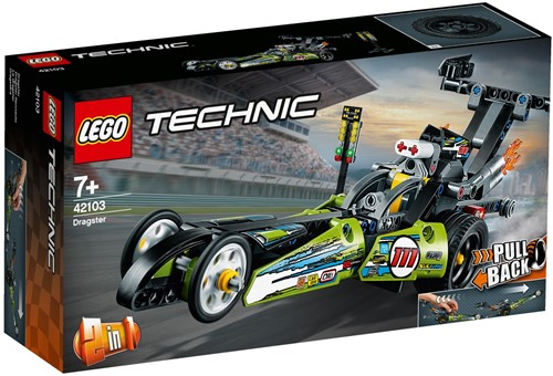 LEGO Technic 42103 Dragster