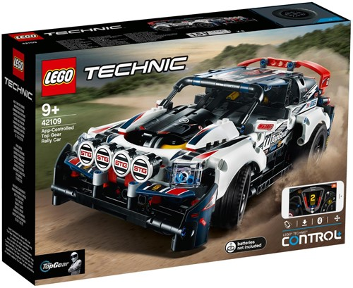 LEGO Technic 42109 Top Gear rallyauto met app-bediening