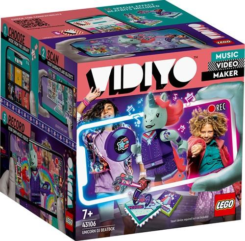 LEGO VIDIYO™ Unicorn DJ BeatBox - 43106
