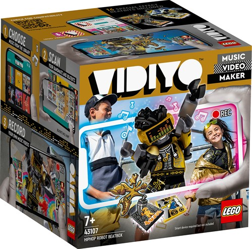 LEGO VIDIYO™ HipHop Robot BeatBox - 43107