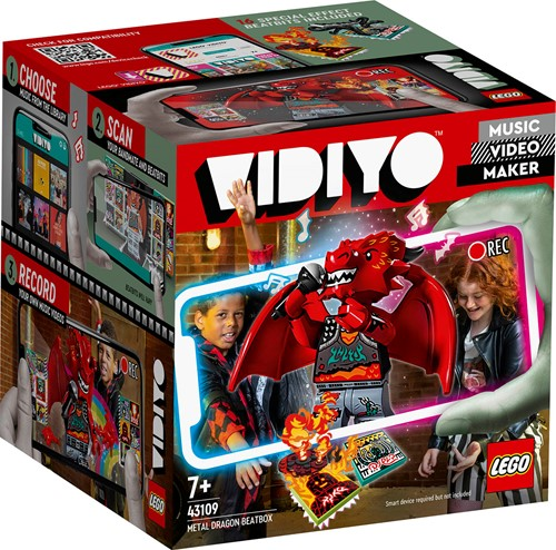 LEGO VIDIYO™ Metal Dragon BeatBox - 43109