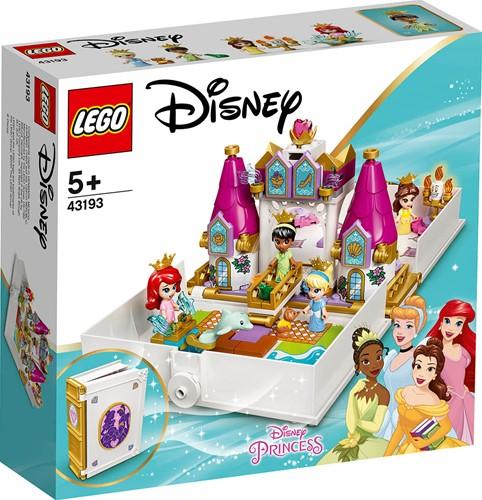 LEGO Disney Princess™ Ariël, Belle, Assepoester en Tiana's verhalenboekavonturen - 43193