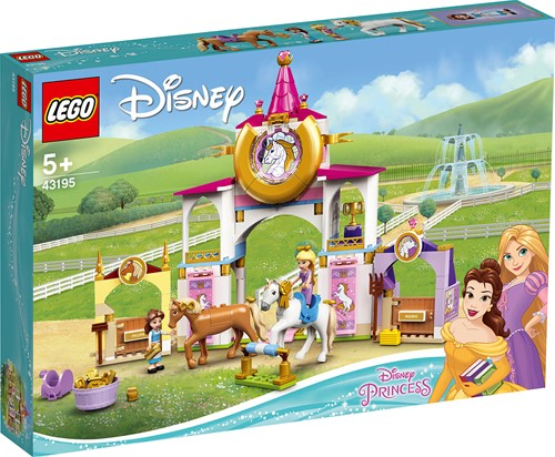 LEGO Disney Princess™ Belle en Rapunzel's koninklijke paardenstal - 43195